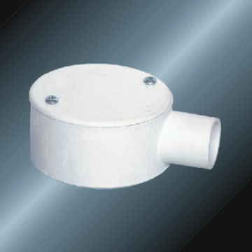 PVC Insulating Electrical Drive One Way Circular Box