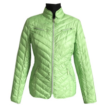 Quilted Jacket slim pattern