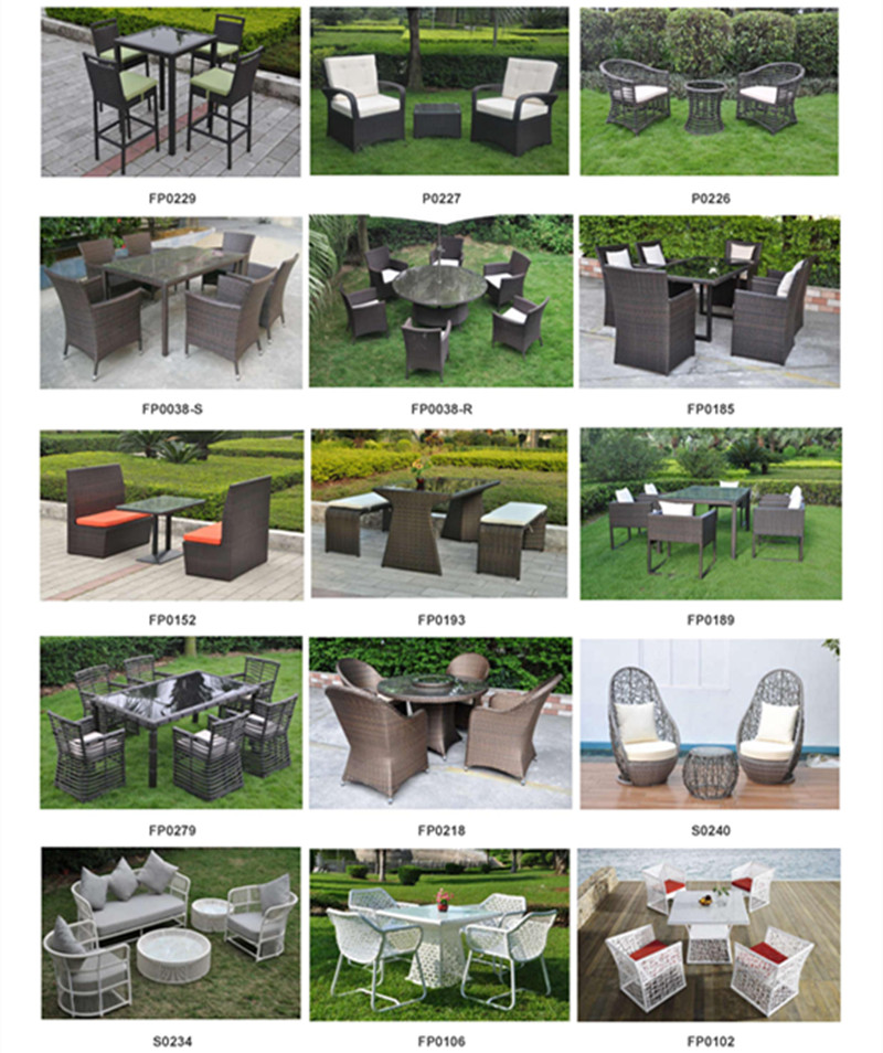 GE Garden Furniture Catalog
