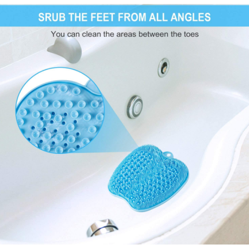 Great for Shower Larger Shower Foot Scrubber Mat