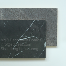 Black stone grain series melamine HPL decorative mgo boards