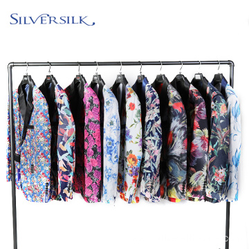 Slim Fit Jacket Floral Natched Lapel Blazer Man