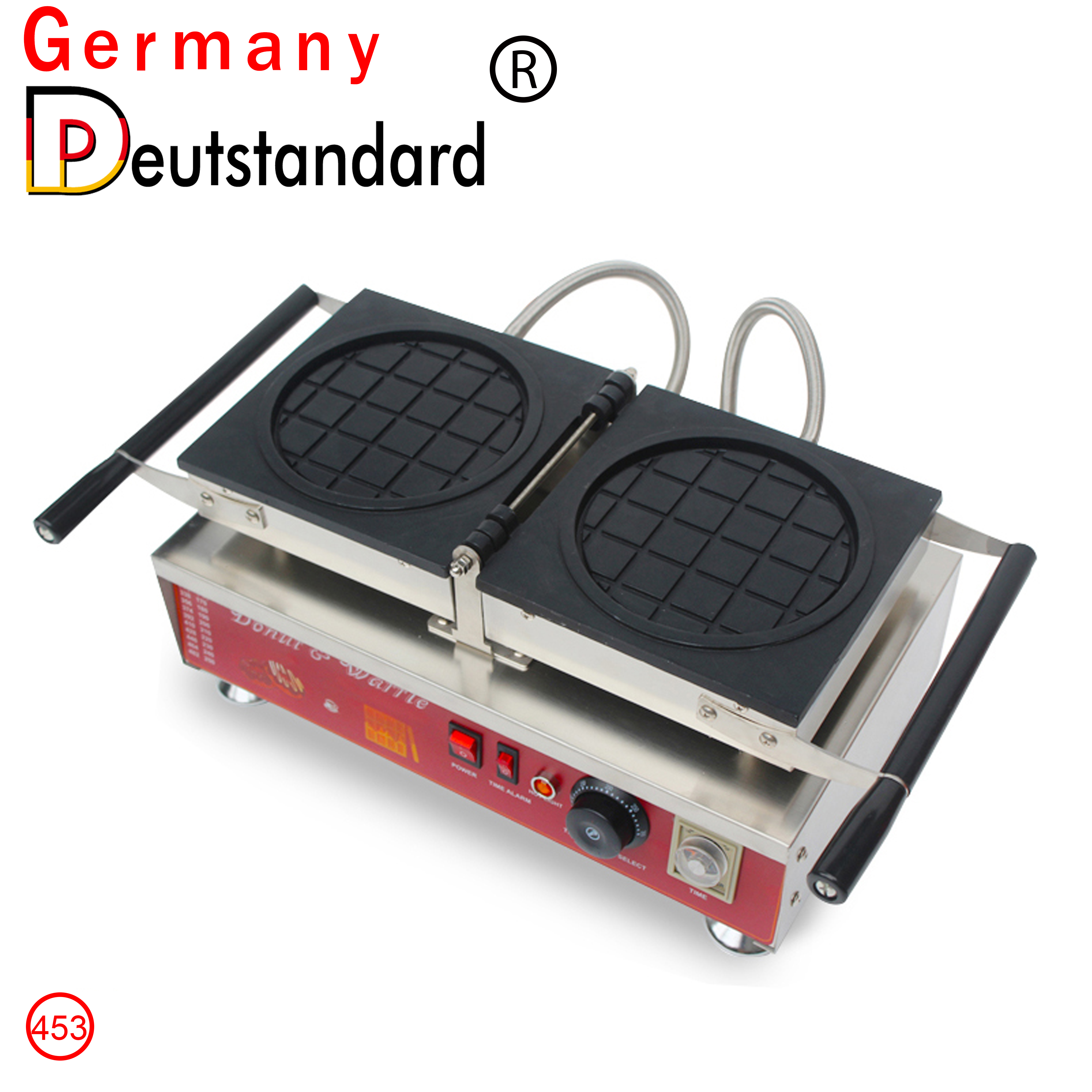 commercial flip waffle machine