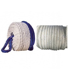 4 strand polyester rope with strong UV resistance