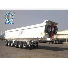 Hydraulic Tipper Semi Trailer Truck