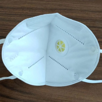 Earloop Disposable Face Mask with breathing valve