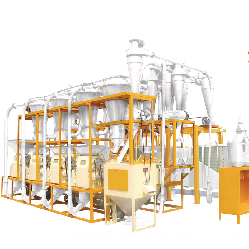 6FTFS- 36A Wheat Milling Plant