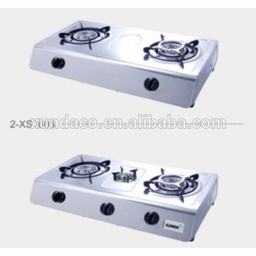 3 Burners Gas Hob with 430 ss