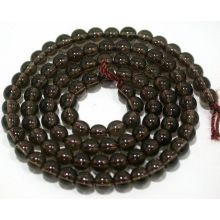 Loose 4MM Natural Smoky Quartz Round Crystal Beads 16Inch