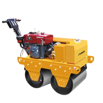 Baby Walk-Behind Vibratory Roller for Soil Compaction and Asphalt Application
