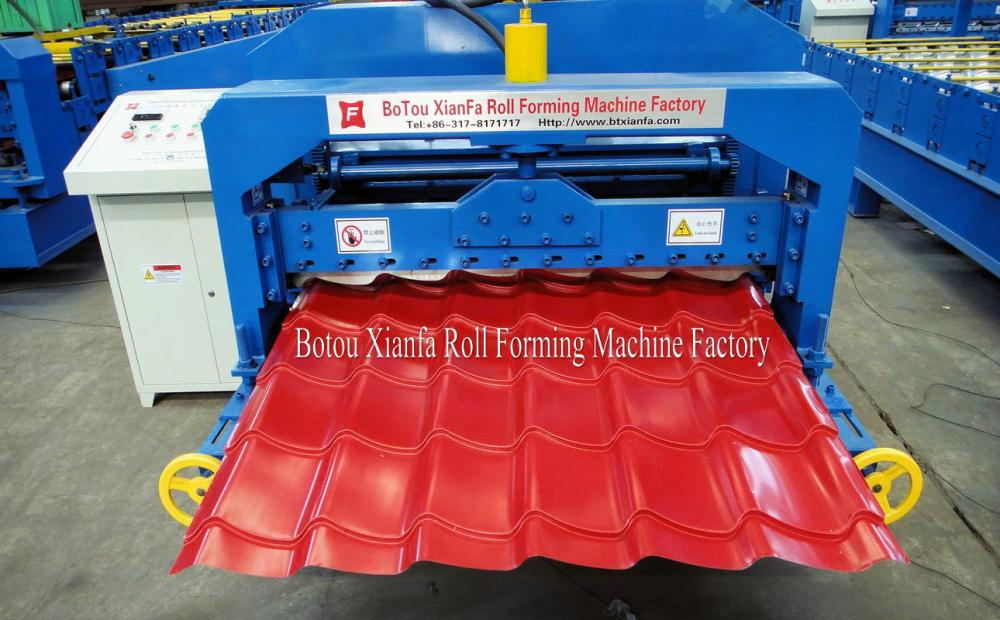 New type  Glazed Roofing  Machine
