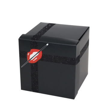 Holiday Gift Promotional Glitter Paper Packaging Boxes