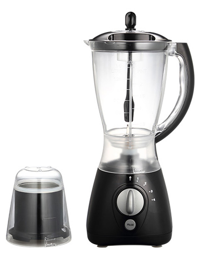Plastic jar blenders with grinder