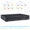 HD HDMI-compatible DVD Player Home Mini USB RCA VCD EVD Player Region Free Multiple OSD Languages MP3 DVD CD RW Player
