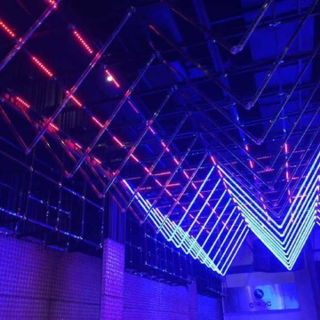 Full Color DMX512 Programmable LED Vertical Tube