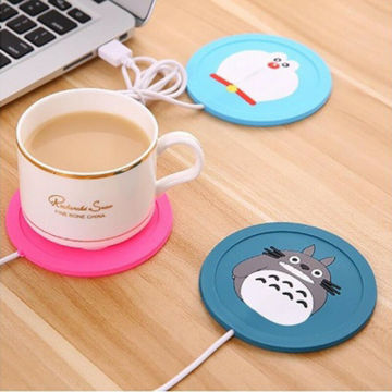 Hot Keep Warm Cups Heating USB Power Mat Warmer Pad Electric Insulation Coaster for Office Milk Coffee Tea Preservation Cup Mug