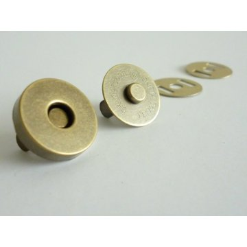 Metal Magnetic Snap-fastener for leather handbag