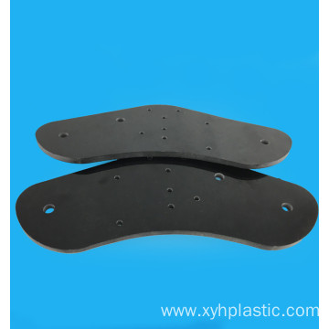 Black fibre glass FR4 G10 custom milling plate