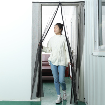 accordion magnetic fly curtain door sensor