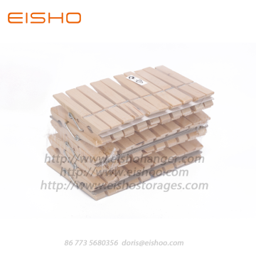 EISHO Wooden Clothespins For Decoration