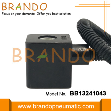 Automobile Parts 0200 Solenoid Coil With Plug Connector