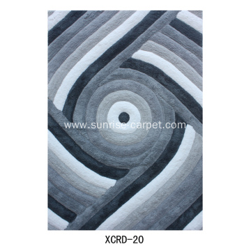 Microfiber 3D Design Carpet