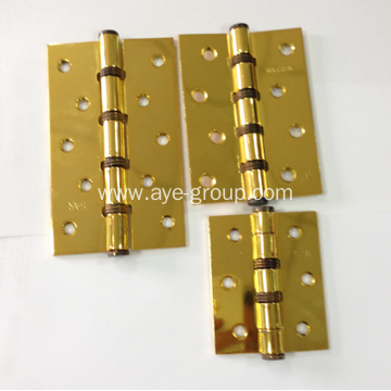 Iron Door Hinges with Copper Plated