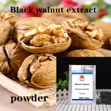Pure Natural Wild Black Walnut Extract Powder, 100% No Added Walnut Extract Powder, Moisturizes The Skin and Darkens The Hair