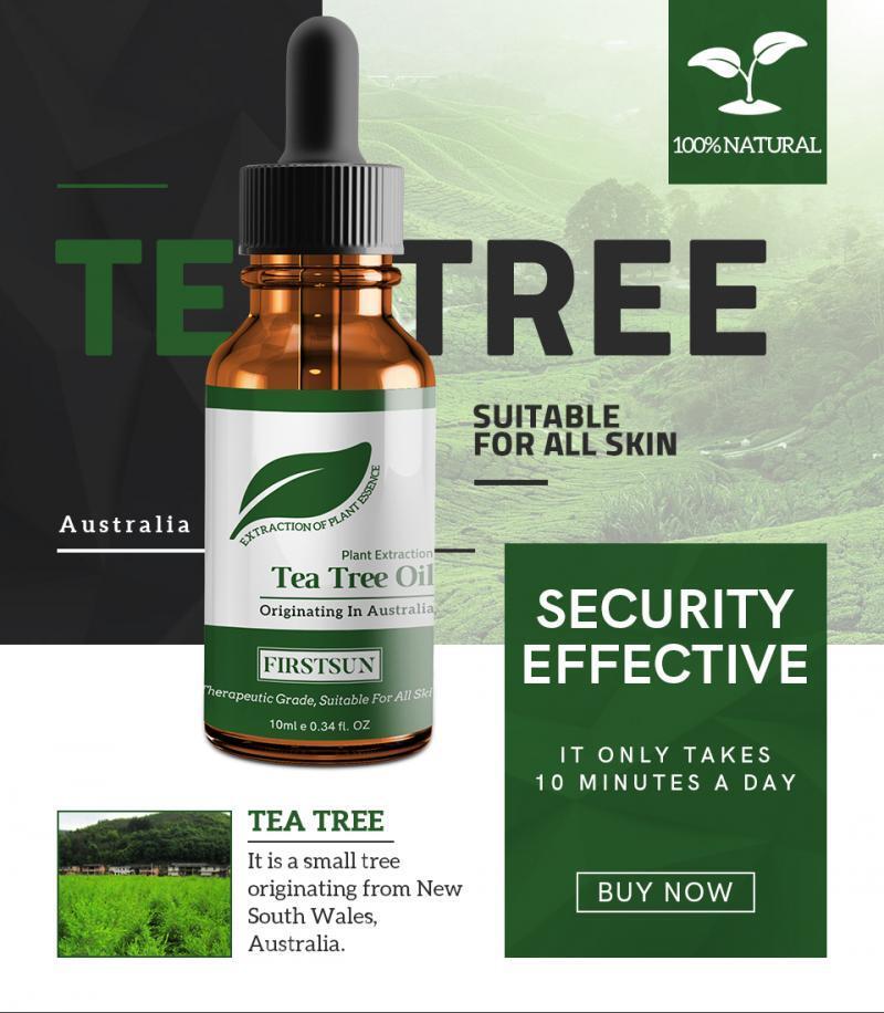 New Natural Tea Tree Pure Essential Oil Professional Anti Fungal Control Fade Acne Shrink Pores Skin Care TSLM1
