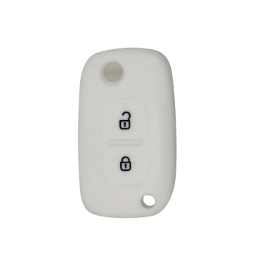 Hot debossed silicon car key cover for Renault