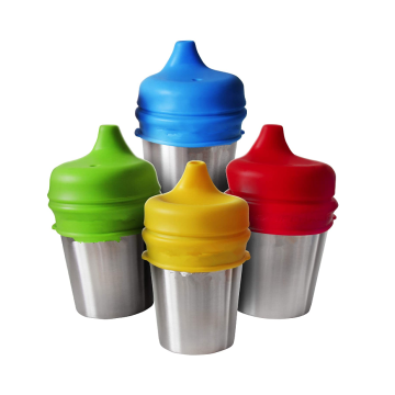 Custom Food grade Silicone Sippy Cup Lids