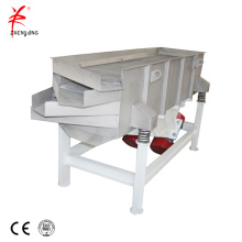 Plastic pellet screening linear vibrating sieve machine