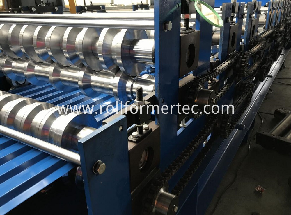 roofing panel roll forming machine 7 11