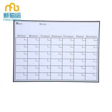 Magnetic Weekly Daily Planner Whiteboard for Family