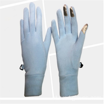 Wanita Winter Warm Long Finger Kutub Fleece Gloves