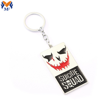 Hot Sale Custom Logo Suicide Squad KeyChain