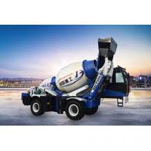 1.8 cubic meters self loader concrete truck mixer