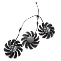 New 75MM T128010SU PLD08010S12H 3Pin 0.35A Cooler Fan Replacement For Gigabyte 7970 GTX 970 GAMING G1 Graphics Card Cooling