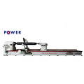 Cylindrical Rubber Roller Strip Cutting Machine