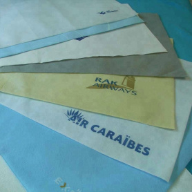 Disposable polyester airline non woven pillowcases