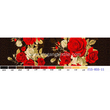 Long-Term Supply Printed Polyester Fabric Bedsheet Fabric