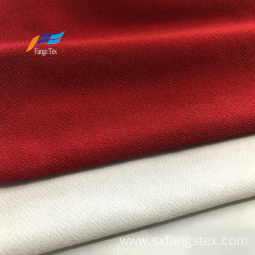 High Quality Scuba Polyester Plain Woven White Fabric