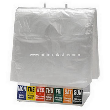 Slide Deli Bag Clear Food Bag