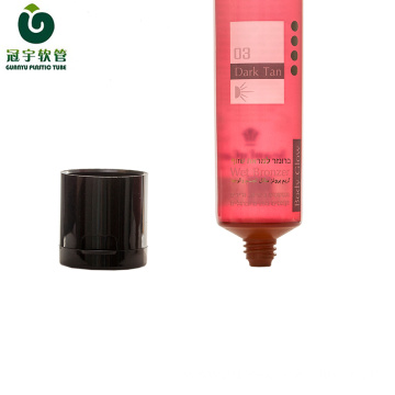 70ml cosmetic plastic tube for body glow packaging