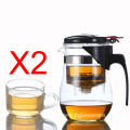 Loose Leaf Tea Maker with Glass Teapot