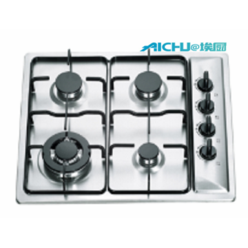 Stainless Steel Gas Cooker With 4 Burners