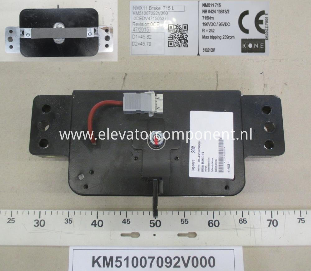 Brake Assembly for KONE NMX11 Gearless Machine