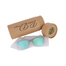 Eco-friendly Custom Kraft Paper Sunglass Packaging Paper Box