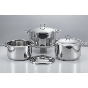 Stainless Steel Soup Pot with Lid