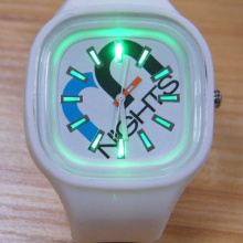 New Popular Kids Shining Silicone Quartz Watches